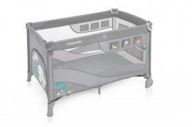 Baby Design Dream Regular multifunkciós utazóágy - light gray