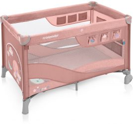 Baby Design Dream Regular multifunkciós utazóágy - pink