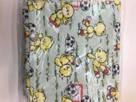 Ovis ágynemű huzat - maci-foci