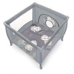 Baby Design Play UP utazó járóka - light gray 2020