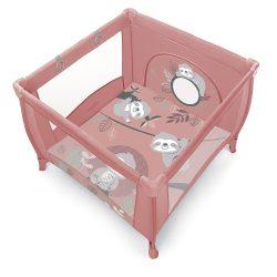 Baby Design Play UP utazó járóka - pink 2020