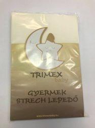 Trimex gyermek strech lepedő - nyers