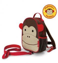 Skip Hop Zoo hátizsák pórázzal - majom