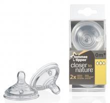 Tommee Tippee CTN BPA-mentes variábilis cumisüveg cumi 2 db