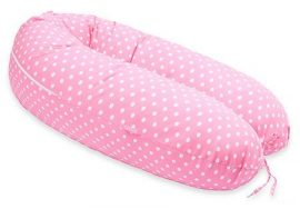 SCamp szoptatós párna - Rózsaszín - fehér pöttyös