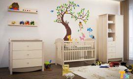 Todi Teddy teljes babaszoba bútorzat - (csak rendelésre, ingyen szállítjuk).