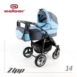 Adbor Zipp 3-1 multifunkciós babakocsi - 14