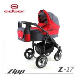 Adbor Zipp 3-1 multifunkciós babakocsi - Z 17