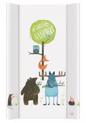 Ceba pelenkázó lap merev 2 oldalú 50x80 - Nature Animals