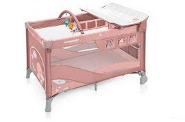 Baby Design Dream emelhető magasságú utazóágy 2019 - 08 Pink