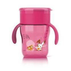 Avent Első ivópohár 260 ml - Rózsaszín