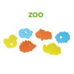 BabyOno fürdőjáték puzzle szivacs, 6 db - 534 zoo.