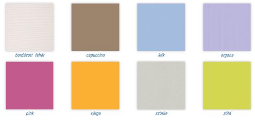 Todi Bianco bútorcsalád választható betétszínek