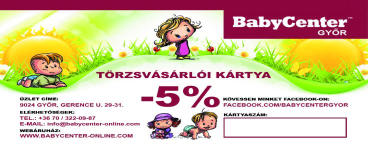 Szállítási díjak - BabyCenter-Online - Bababolt és baba webáruház